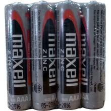 MAXELL Zinko-manganová baterie R03 4S Zinc 4x AAA SHRINK 35029367