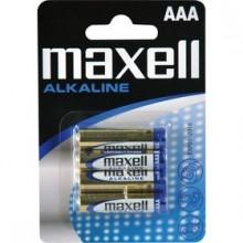 MAXELL Alkalické tužkové baterie LR03 4BP 4xAAA (R03) 35009646