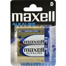 MAXELL Alkalické baterie LR20 2BP 2xD (R20) 35009652