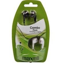 MAXELL 303457 COMBO PACK EBC2 Sluchátka 35031224