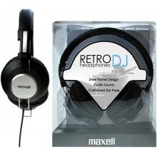 MAXELL 303516 RETRO DJ BLACK Sluchátka 35042344