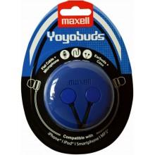 MAXELL 303728 YOYO BUDS BLUE+BLACK sluchátka 35047009