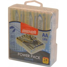 MAXELL Alkalické tužkové baterie LR6 24 BP POWER PACK 35041989