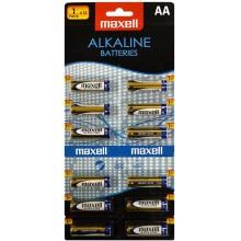 MAXELL Alkalické tužkové baterie LR6 12BP ALK 12x AA (R6) 1x12 35043885