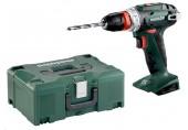 METABO BS 18 QUICK Akumulátorový vrtací šroubovák 18V + kufr MetaLoc 602217840