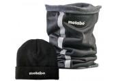 METABO Trubkový šátek + čepice, tmavě šedá 657036000