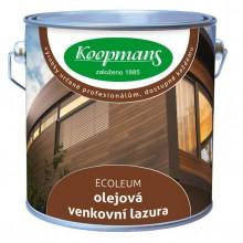 METRUM Koopmans ECOLEUM olejová venkovní lazura 1l Borovice 6100023