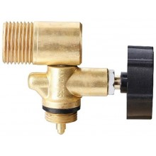 MEVA - Jednocestný ventil s výstupem do boku - nástavec na 2kg láhev 2156UVB