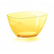 PROSPERPLAST COUBI Mísa 19,8 cm, žlutá transparentní DUMS200P