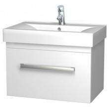 INTEDOOR MONA spodní koupelnová skříňka závěsná 77 cm s umyvadlem, bílá MO 80 01