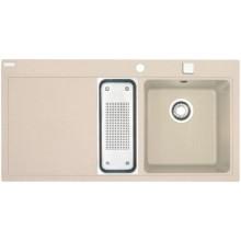 Franke Mythos MTG 651-100/7, 1000x515 mm, granitový dřez pískový melír 114.0150.026