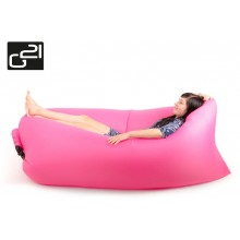Nafukovací vak G21 Lazy Bag Pink 635342