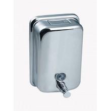 SANELA Nerezový dávkovač tekutého mýdla SLZN 05, obsah 1,25 l, lesklý 95050