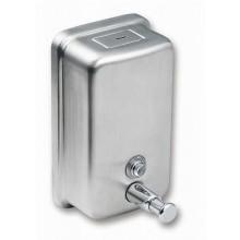 SANELA Nerezový dávkovač tekutého mýdla SLZN 06, obsah 0,85 l, lesklý 95060