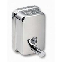 SANELA Nerezový dávkovač tekutého mýdla SLZN 07, obsah 0,5 l, lesklý 95070