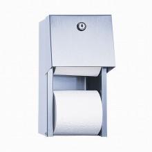 SANELA Nerezový zásobník na toaletní papír SLZN 26, na omítku, matný 95260