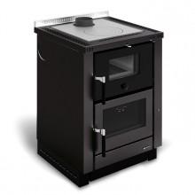 NORDICA VICENZA 8 kW sporák na dřevo, černá
