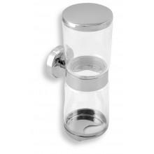 NOVASERVIS Náhradní sklenička držáku na kosmetické tampony 0182,X