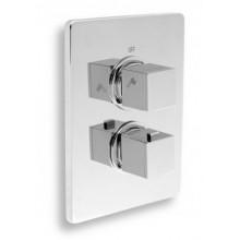 NOVASERVIS AQUASAVE sprchová termostatická baterie, 2-cestný ventil, chrom 2850R,0