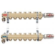 NOVASERVIS rozdělovač s regulačními ventily, 9 okruhů RO09