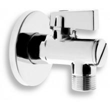 """NOVASERVIS rohový ventil s filtrem, kovovou pákou a převlečnou matkou 1/2""""X3/8"""" CF3010/10M"""