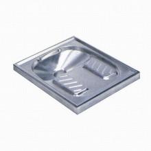 SANELA Nášlapné nerezové WC SLWN 07 do podlahy 94070