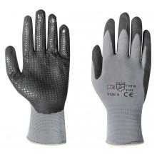 Pracovní rukavice MICRO-FLEX vel. 9 - blistr