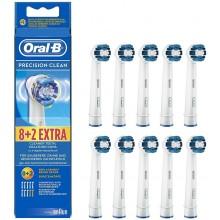 Oral-B Precision Clean náhradní hlavice pro elektrický zubní kartáček, 10 ks