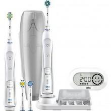Oral-B Pro 6900 White + bonus handle elektrický zubní kartáček