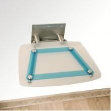RAVAK Sprchové sedátko OVO-B Blueline modré tahy B8F0000031