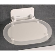 RAVAK CHROME Sprchové sedátko, bílá konstrukce B8F0000028