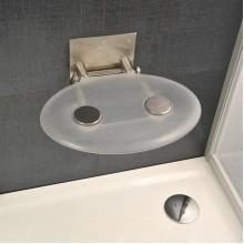 RAVAK Sprchové sedátko OVO P CLEAR (čirá) B8F000000