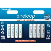 PANASONIC ENELOOP HR6 AA 3MCCE/8BE tužkové baterie nabíjecí 35045042
