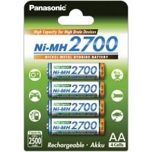 PANASONIC HR6 AA 3HGAE/4BE HICAP 2700 Nabíjecí baterie 35046061