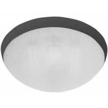 PANLUX GALIA přisazené stropní a nástěnné kruhové svítidlo 75W E27, černá KG-75/C