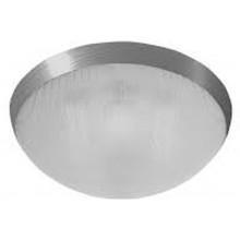 PANLUX GALIA přisazené stropní a nástěnné kruhové svítidlo 75W E27, stříbrná KG-75/CH