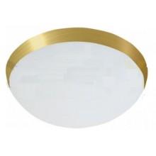 PANLUX GALIA přisazené stropní a nástěnné kruhové svítidlo 75W E27, zlatá KG-75/Z