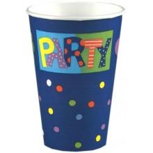 PAPSTAR Party kelímky