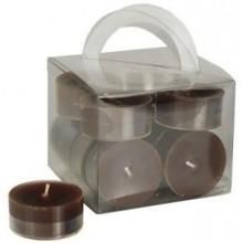 PAPSTAR Svíčky čajové 12 ks, hnědé