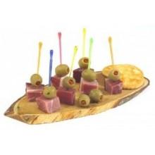 PAPSTAR Různobarevná party zapichovátka (100 ks), 12634
