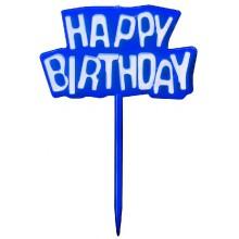 "PAPSTAR Party zapichovátka ""Happy Birthday"" 10ks"