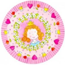 PAPSTAR Papírové party talíře s motivem princezny