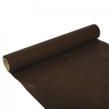 PAPSTAR Dekorativní ubrus šířka 40 cm, hnědý