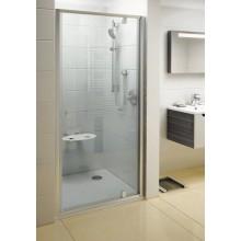 RAVAK Pivot PDOP1-90 sprchové dveře otočné, satin/satin Transparent 03G70U00Z1