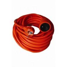 SOLIGHT Prodlužovací kabel 25m 3x1,5mm2 - oranžový PS09