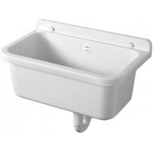 AQUALINE Závěsná výlevka 55x34cm, plast, bílá PI5055