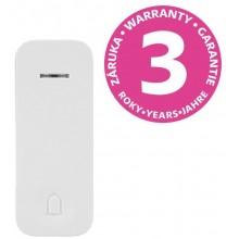 PANLUX PIEZO BELL bezdrátové tlačítko přídavné / náhradní, bílá PN75000006