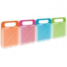 PLASTICOS TA-TAY box na svačinu 14 x 4,5 x 18 cm růžová 1167104