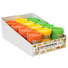 PLASTICOS TA-TAY svačinová dóza 8,3 x 8,3 x 6 cm oranžová 1168504