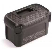 Prosperplast LINE IML Plastový kufr na nářadí, 380x234x225mm, motiv prošívaná kůže NML400